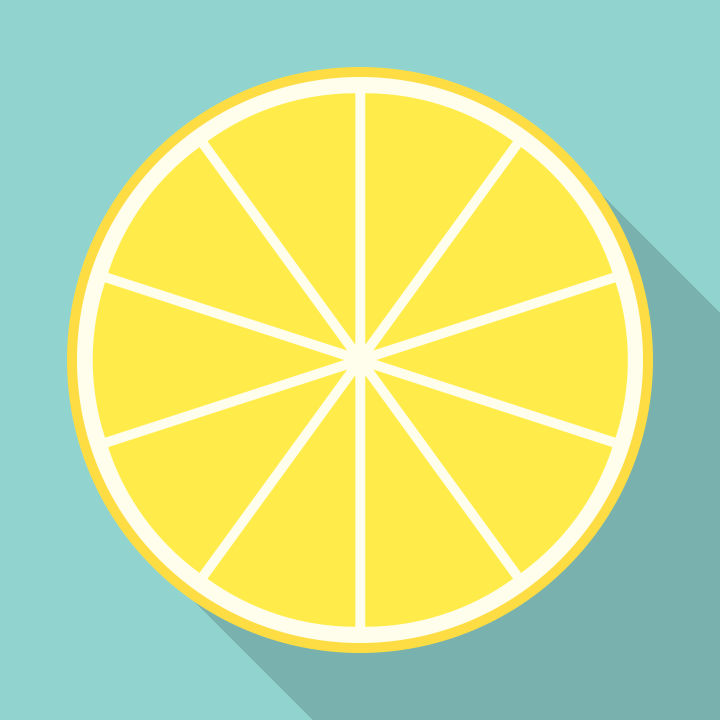 85093f89e In this video Tutorial, you'll learn a super easy technique to draw a lemon flat  icon   Difficulty: Beginner; Length: Quick; Tags: Lemonade Day, Mapdiva, ...