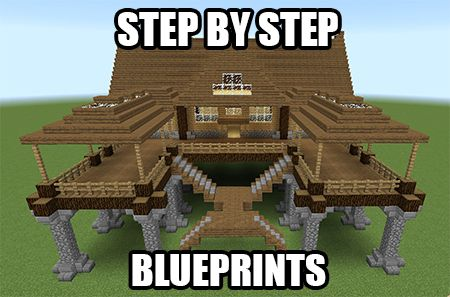 nice minecraft house blueprints get step by step blueprints for this house plus a bunch more