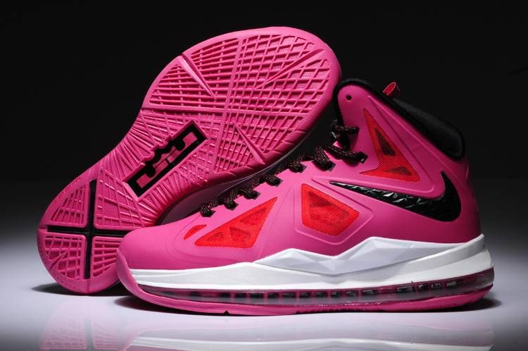 27d68ae28b4 Womens Nike Lebron X (10) Think Pink/Black-White =Post is very good ...