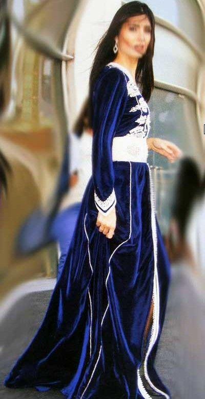 Caftan bleu marine  012ab30117b