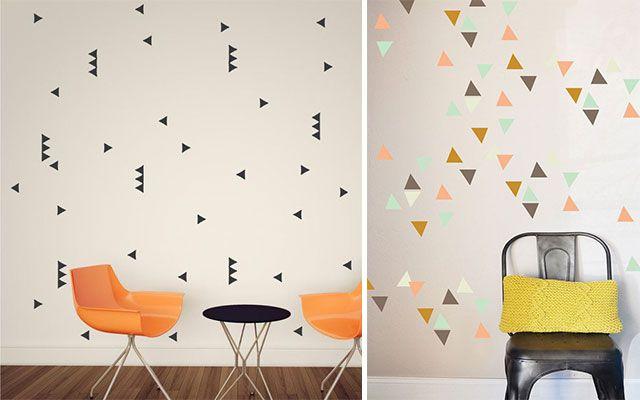 Decofilia Blog | Ideas Para Pintar Paredes Con Triángulos   Decofilia.com