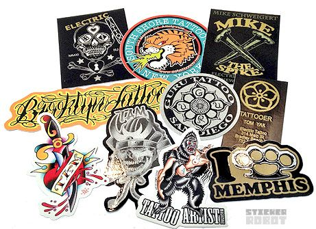 Custom Stickers Wholesale