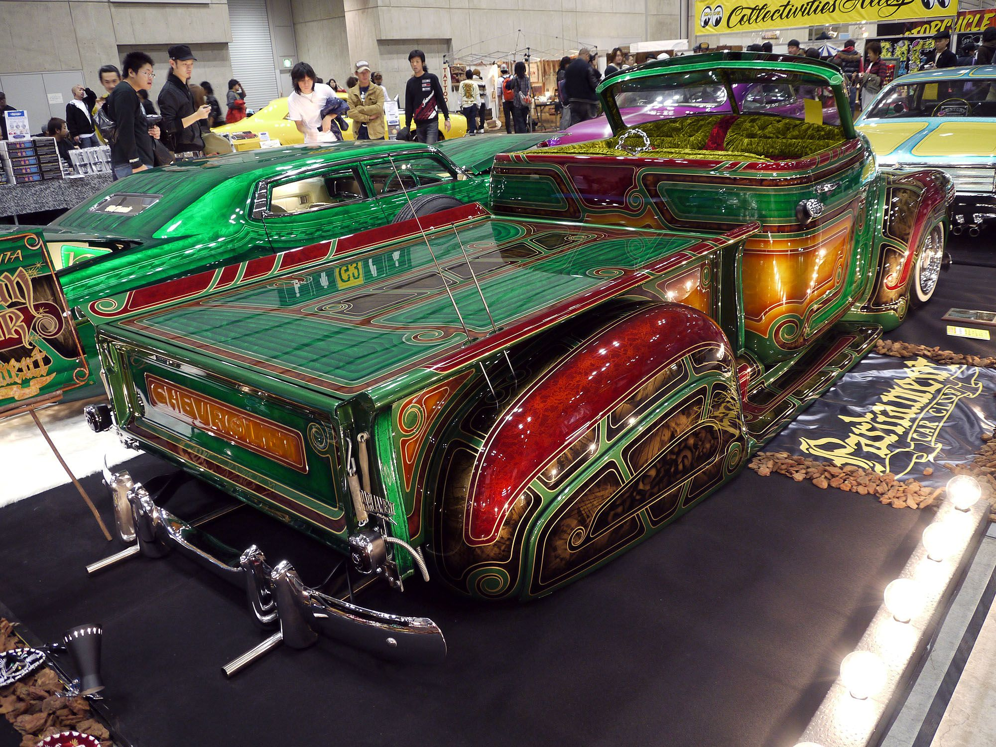 Crazy Paint Jobs Custom Chicano Style Painted Cars Pinterest Lowrider Cars
