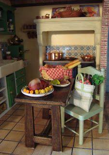 Cozinha Dollhouse - Casa de Praia