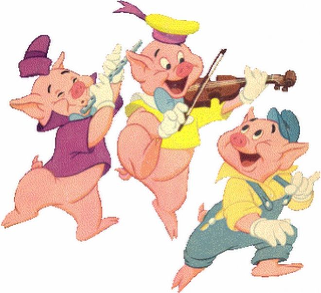Os Três Porquinhos Três Porquinhos Os Tres Porquinhos
