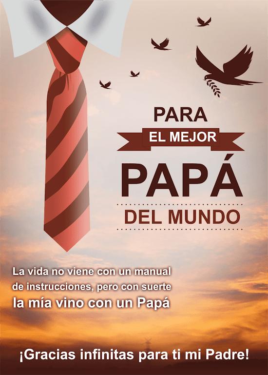 Kilotapias Espaciohonduras Diseños De Tarjetas De Para El Día Del Padre Colección 2 Diseños De Tarjetas Dia Del Padre Tarjetas