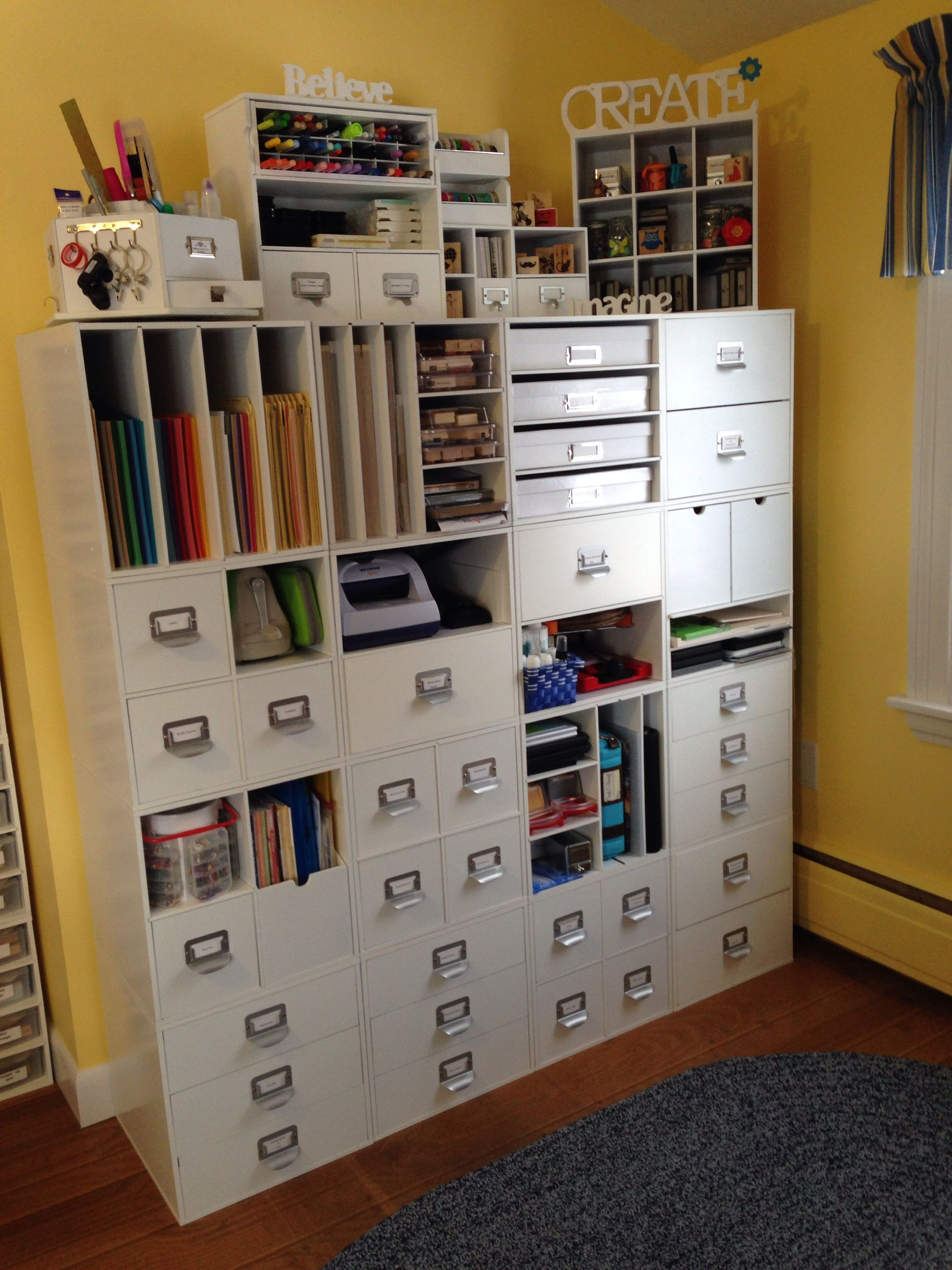 Pin By Diane Beaudoin On Craft Room Organization Craft Room