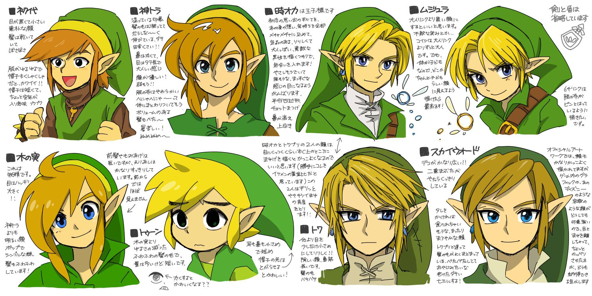 I love how the people behind Legend of Zelda always tinker