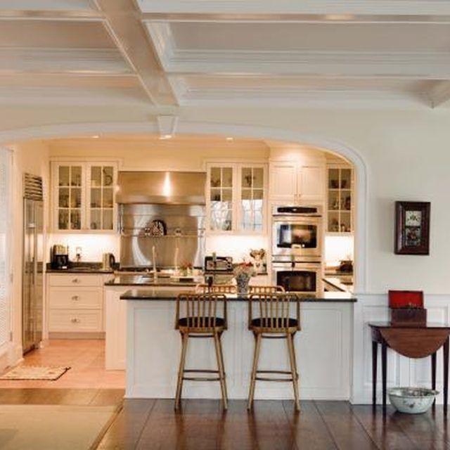 Semi Open Kitchen Designs: Pin On Future Home