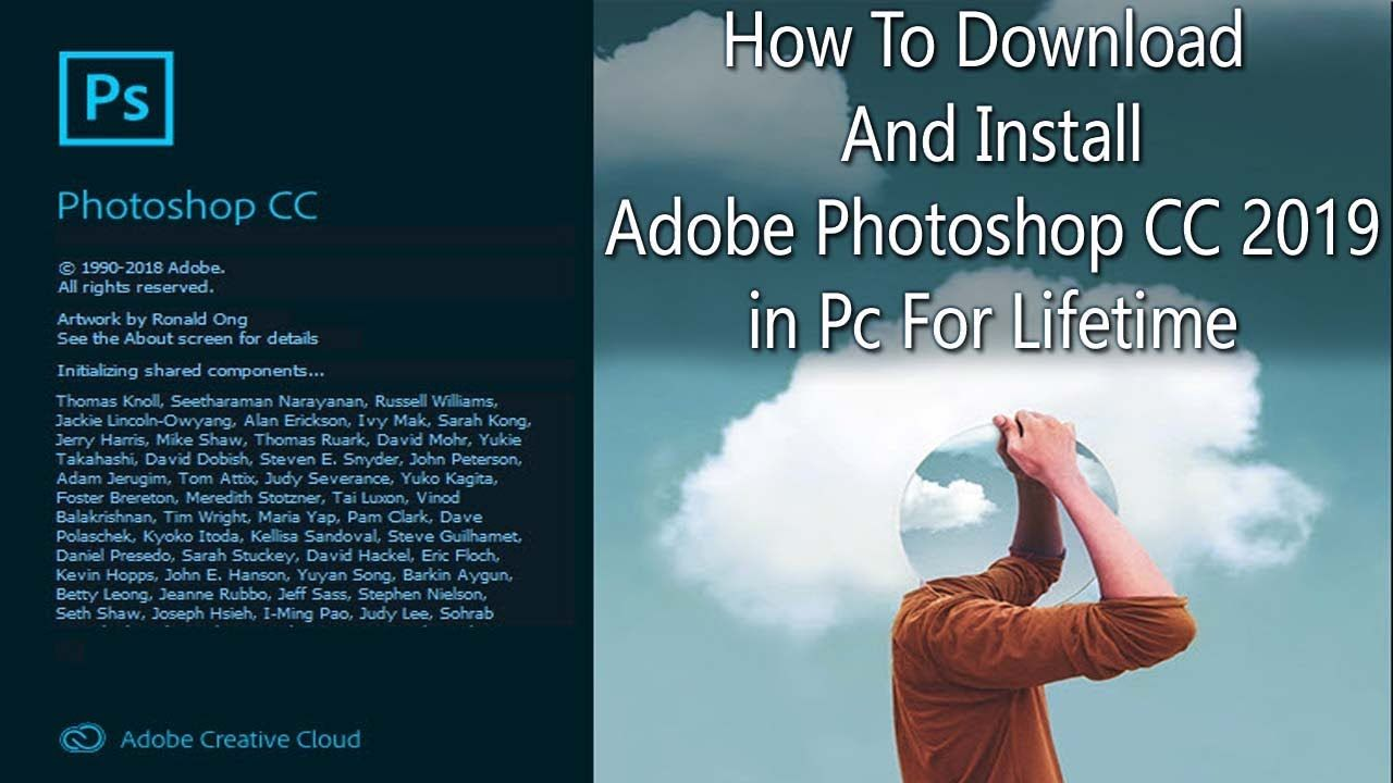 How To Download And Install Adobe Photoshop CC 2019 in Pc