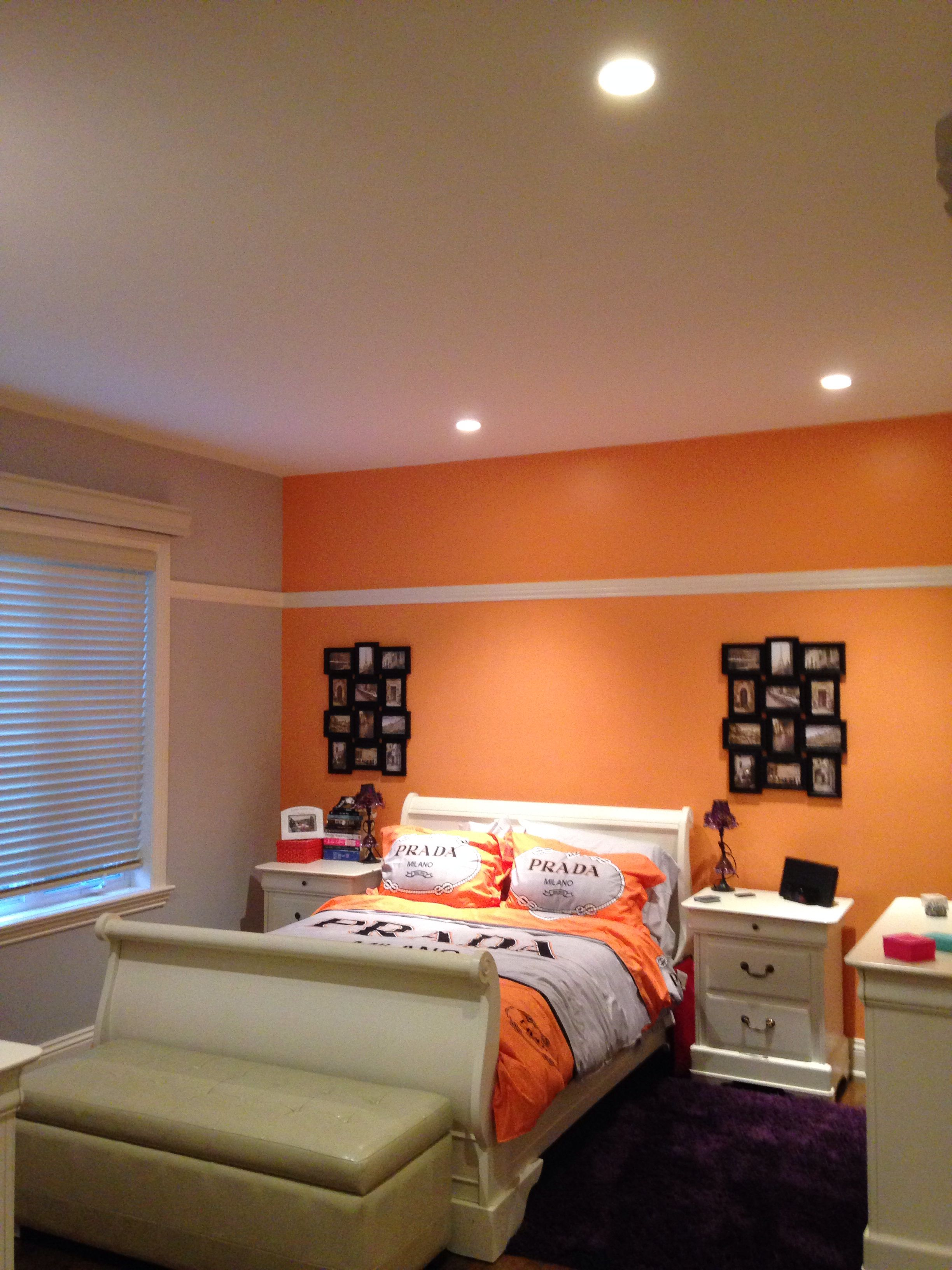 My daughter's bedroom makeover done in 2 days!