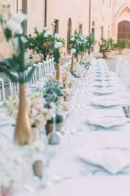 Elegant Tuscany Wedding at Castello Di Santa Maria Novella - Style Me Pretty
