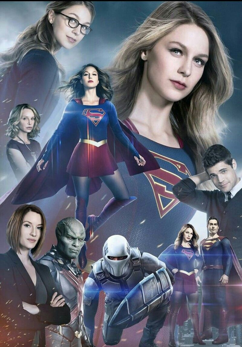 All of de personaje of supergirl Superhéroes dc