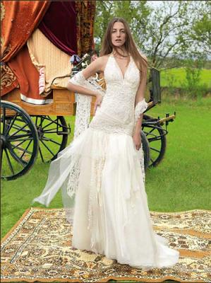 Vestidos de novia hippie baratos