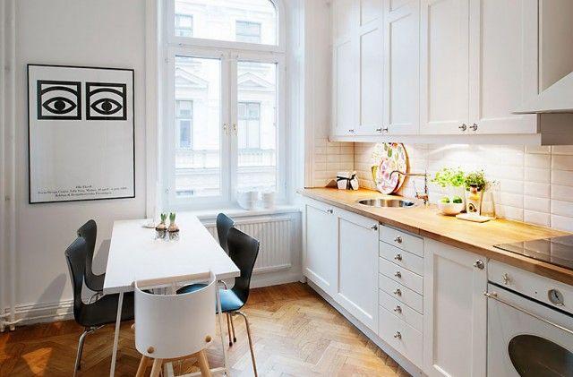 Una selecci n de cocinas n rdicas ideas reforma cocina for Cocinas actuales pequenas