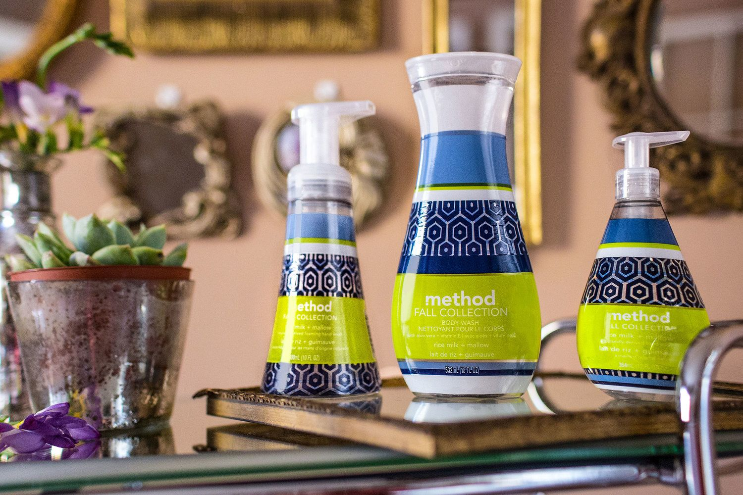 Method limited edition - fall collection via The Dieline