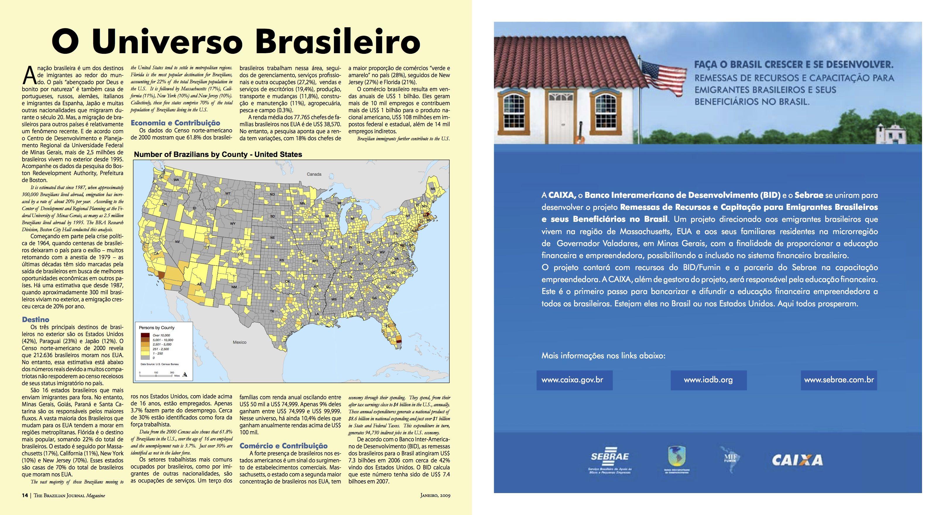 O Universo Brasileiro
