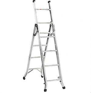 3 Way Combination Step Ladder. Features: Combines a
