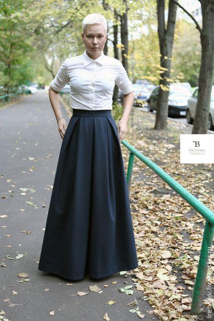 bb533861293 юбка юбка длинная  юбка в пол однотонный - однотонный