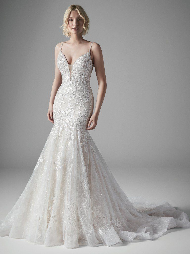 Sottero And Midgley Inga Seek Out Complementary Patterns In Nature Stars In F Sottero And Midgley Wedding Dresses Wedding Dresses Lace Mermaid Wedding Dress [ 1024 x 768 Pixel ]