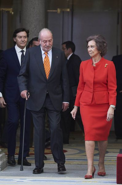 Former King and Queen of Spain..