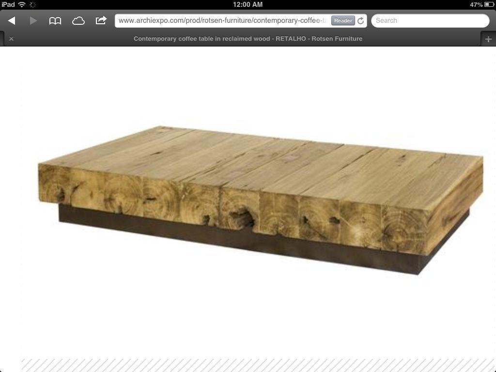 Scrap 4x4 Modern Coffee Table Reclaimed Wood Coffee Table Cheap Coffee Table Coffee Table [ 768 x 1024 Pixel ]