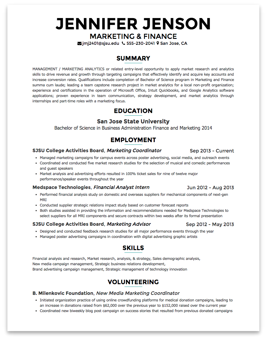 Campaign Analyst Sample Resume Resume : Marketing Analyst Cv Resume Format  For Part Time Job Job .