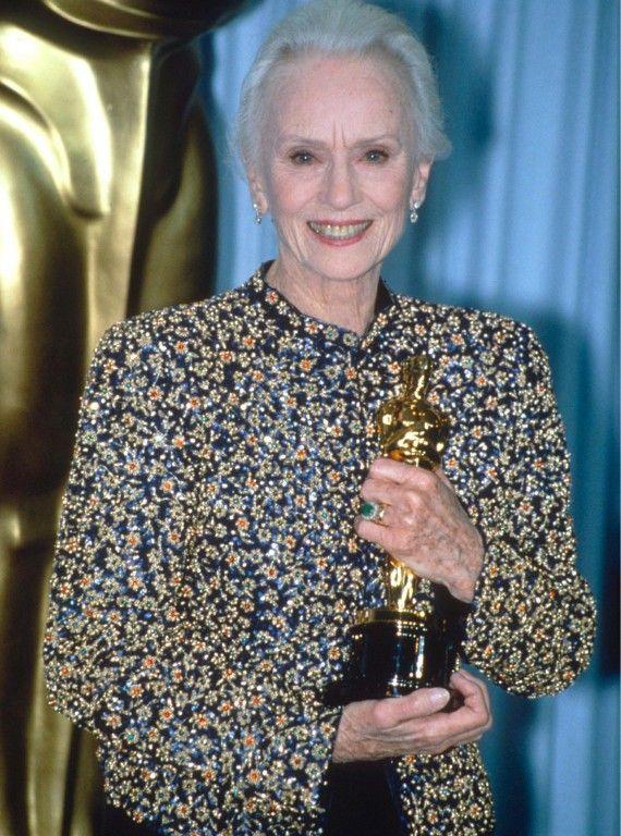 Oscars Best Dressed 1990: Jessica Tandy