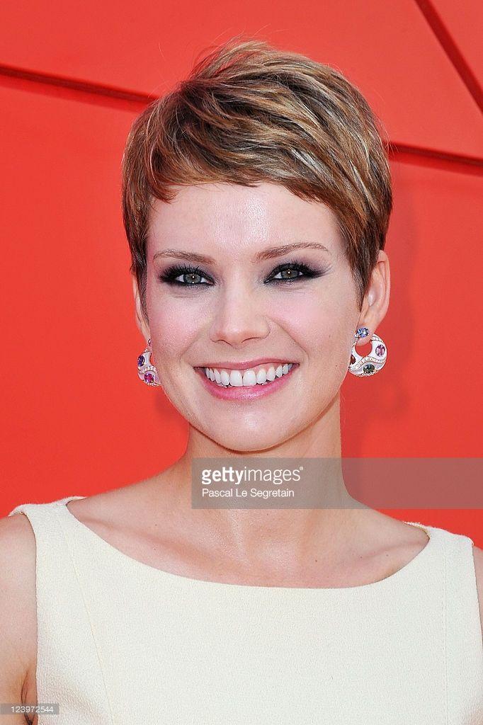 Actress Andrea Osvart attends the