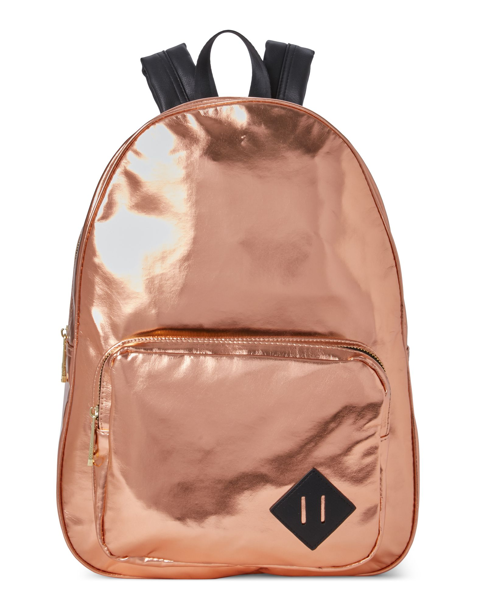f9356d8495ac Madden Girl Rose Gold Orbit Metallic Backpack | *Apparel ...