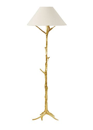 Twig floor lamp