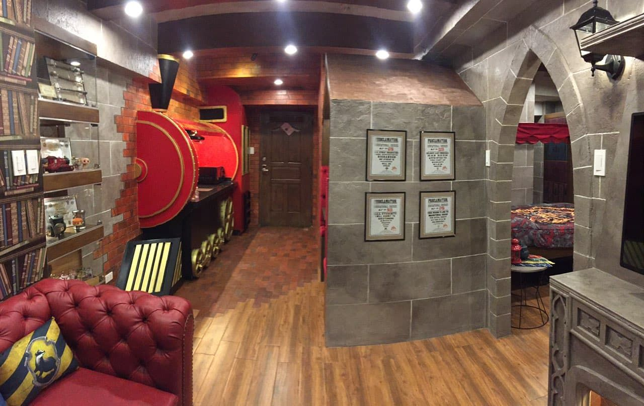 Harry Potter Interior Ideas Entrance And Dining Area Harry Potter Room Decor Harry Potter Comforter Harry Potter Bedroom