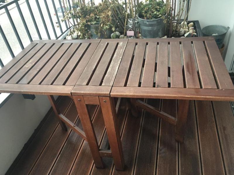Ich Biete Folgenden Tisch Zum Verkauf An Ikea Applaro Klapptisch