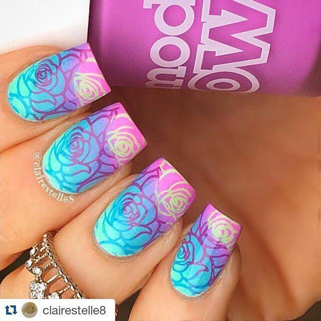 Pin de Ann en nails | Pinterest | Uñas brillantes, Diseños de uñas y ...