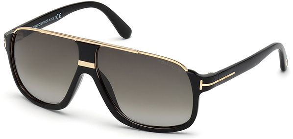 4131b712e44e Marcolin Tom Ford 0335 Eliott Aviator Sunglasses