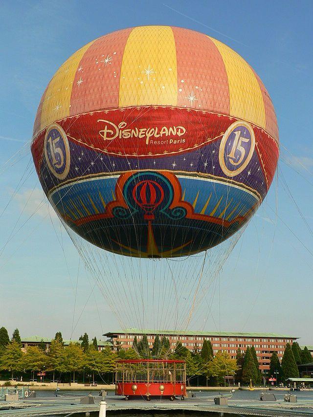 montgolfiere disney
