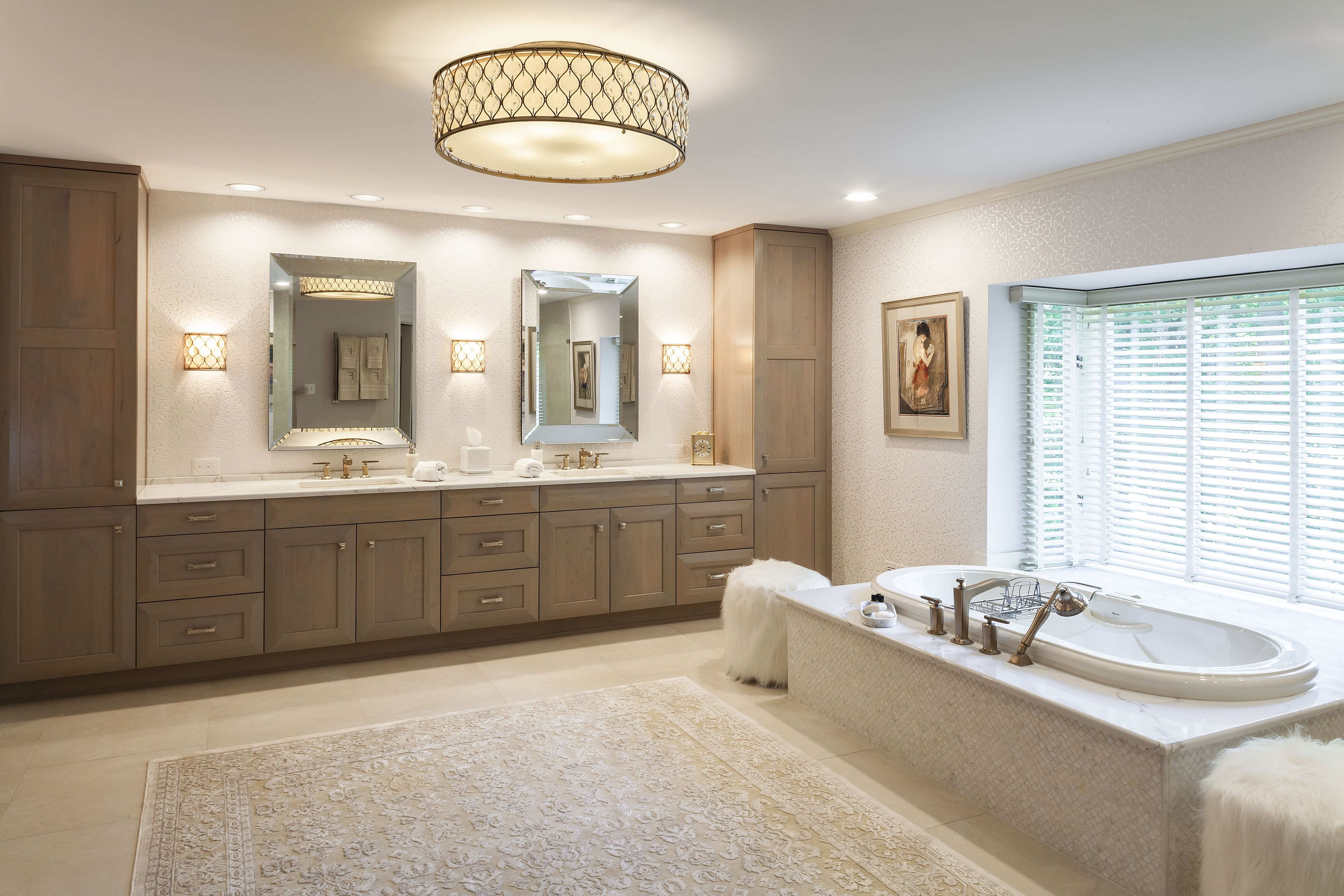 Master Bathroom Remodel In Frederick Md By Talon Construction With Large Vanity Mirror Bathrooms Remodel Bathroom Remodel Master Remodel [ 3000 x 4000 Pixel ]