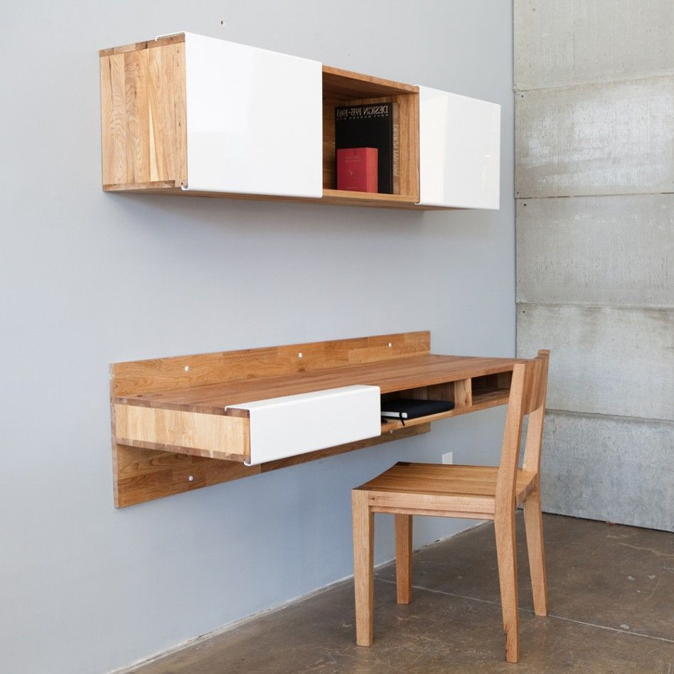 Idea 3 Simple Space Saving Wooden Desks Palochina