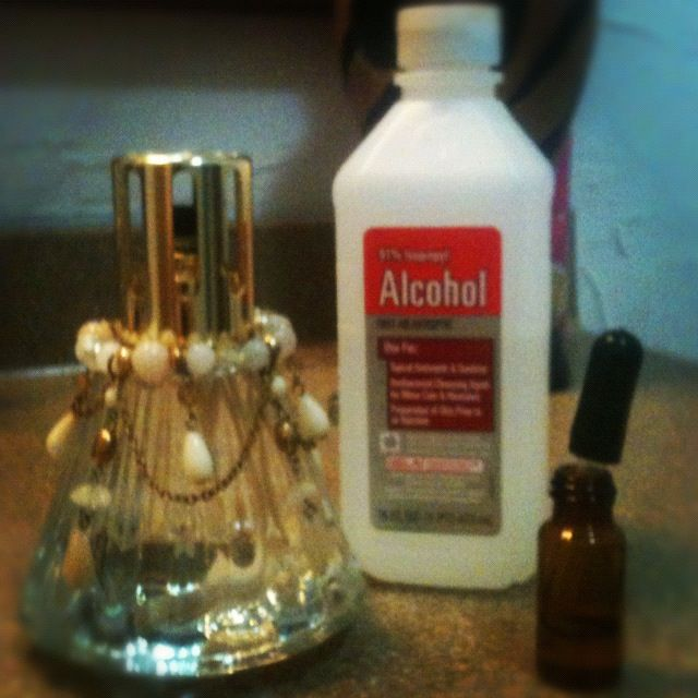 Make Your Own Oil For Your Lampe Berger Oil Lamps 91 Isopropyl