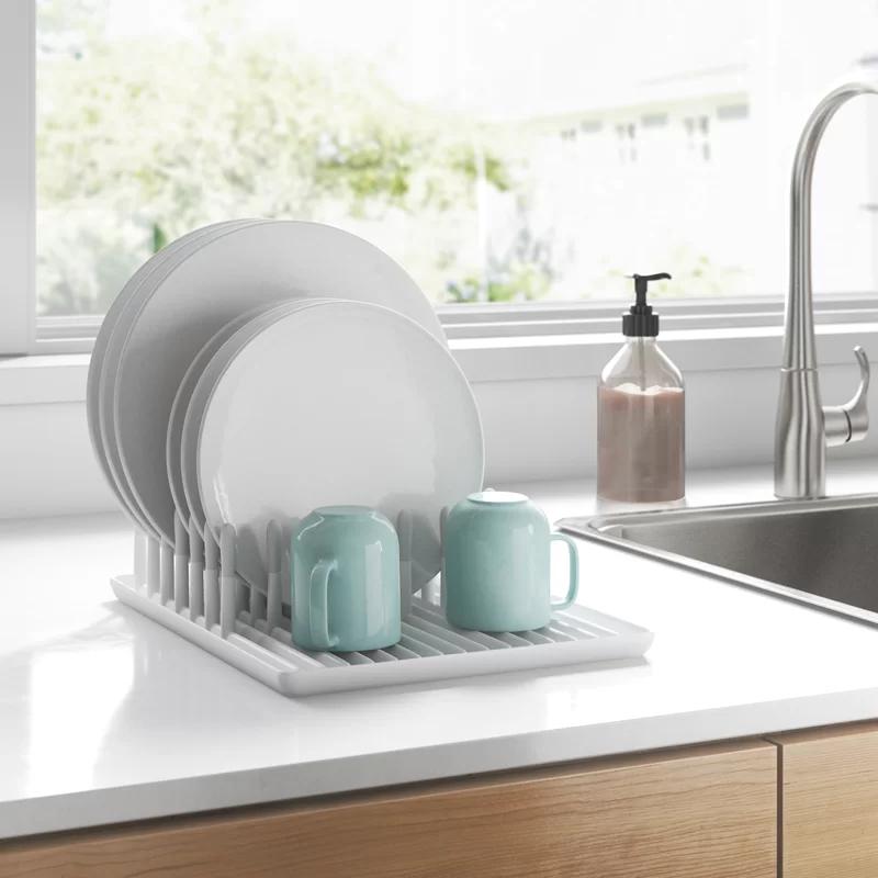 Brock Plastic Countertop Dish Rack In 2020 Dish Racks