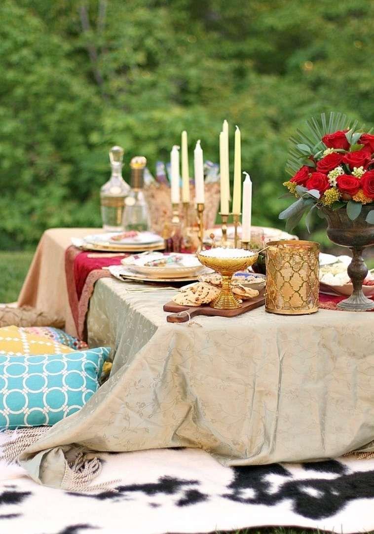 Theme Mariage Marocain Pour Une Fete Magnifique En Plein Air Marokkaans Feestje Feestje Bruiloft