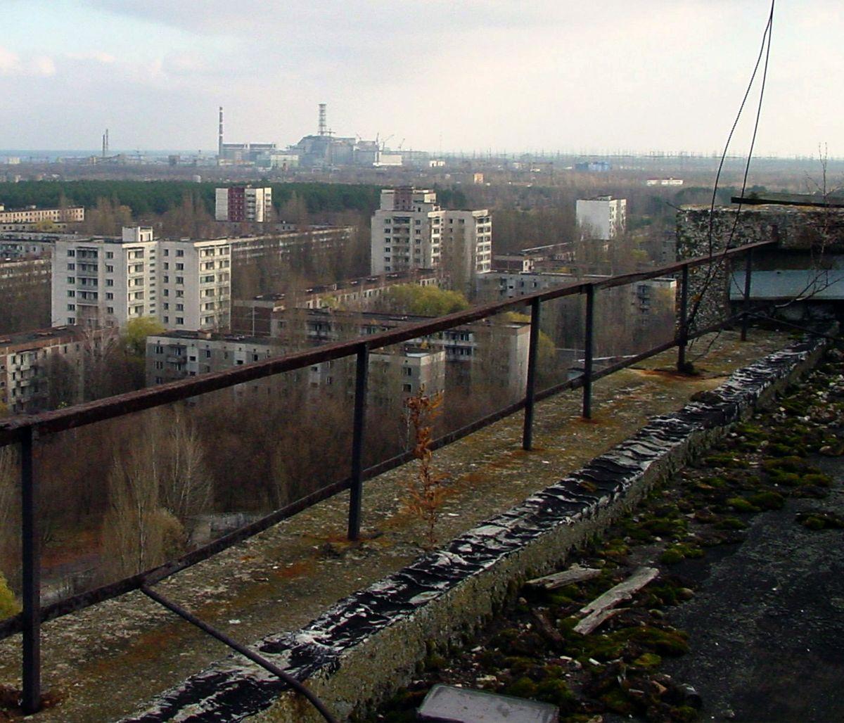 Abandoned Chernobyl Buildings