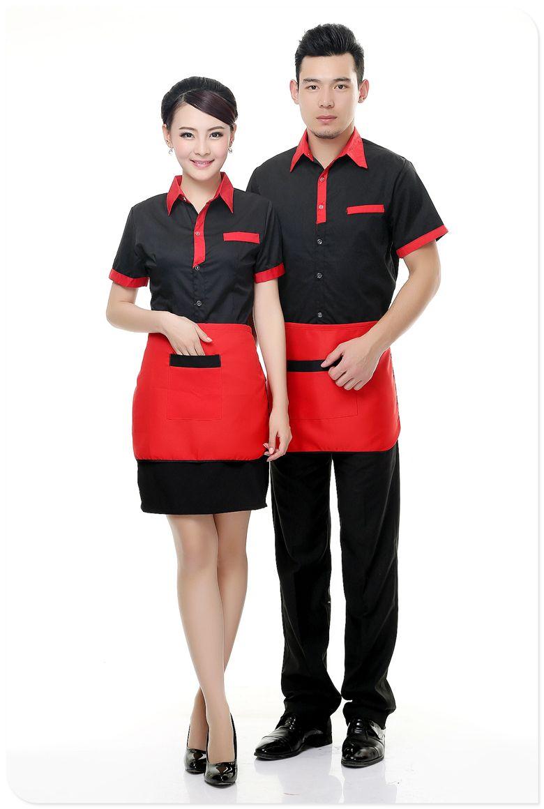 Фото формы одежды для обслуживающего персонала