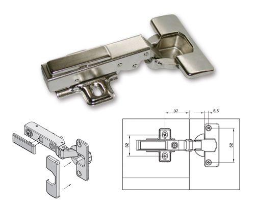 Bisagra integra recta herrajes pinterest herramientas y taller - Bisagra mueble cocina ...