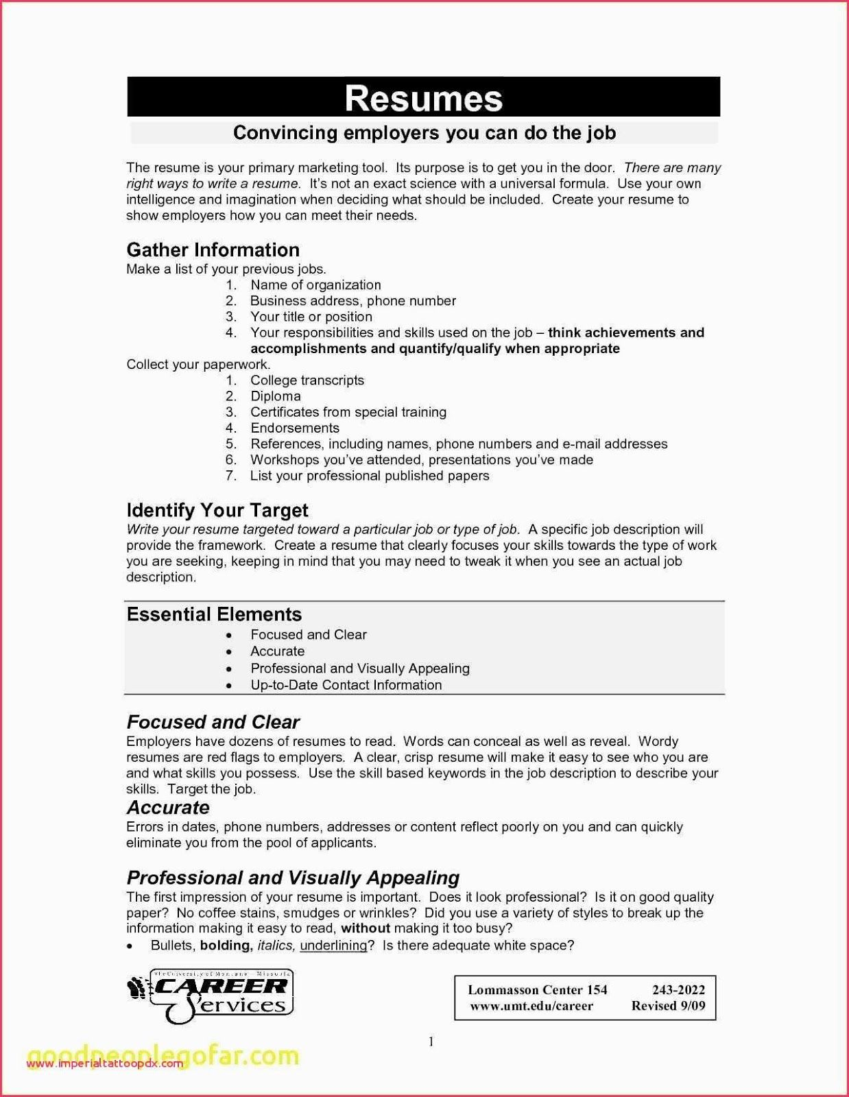 best way to write a resume 2019  resume samples