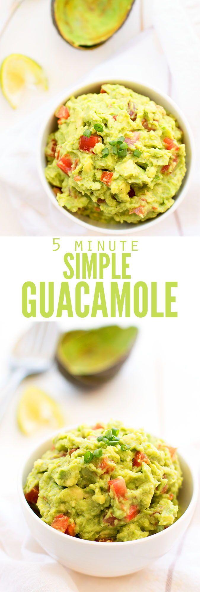 Easy Guacamole Recipe Guacamole Recipe Easy Food Recipes Whole Food Recipes
