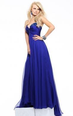 Blue evening dress uk
