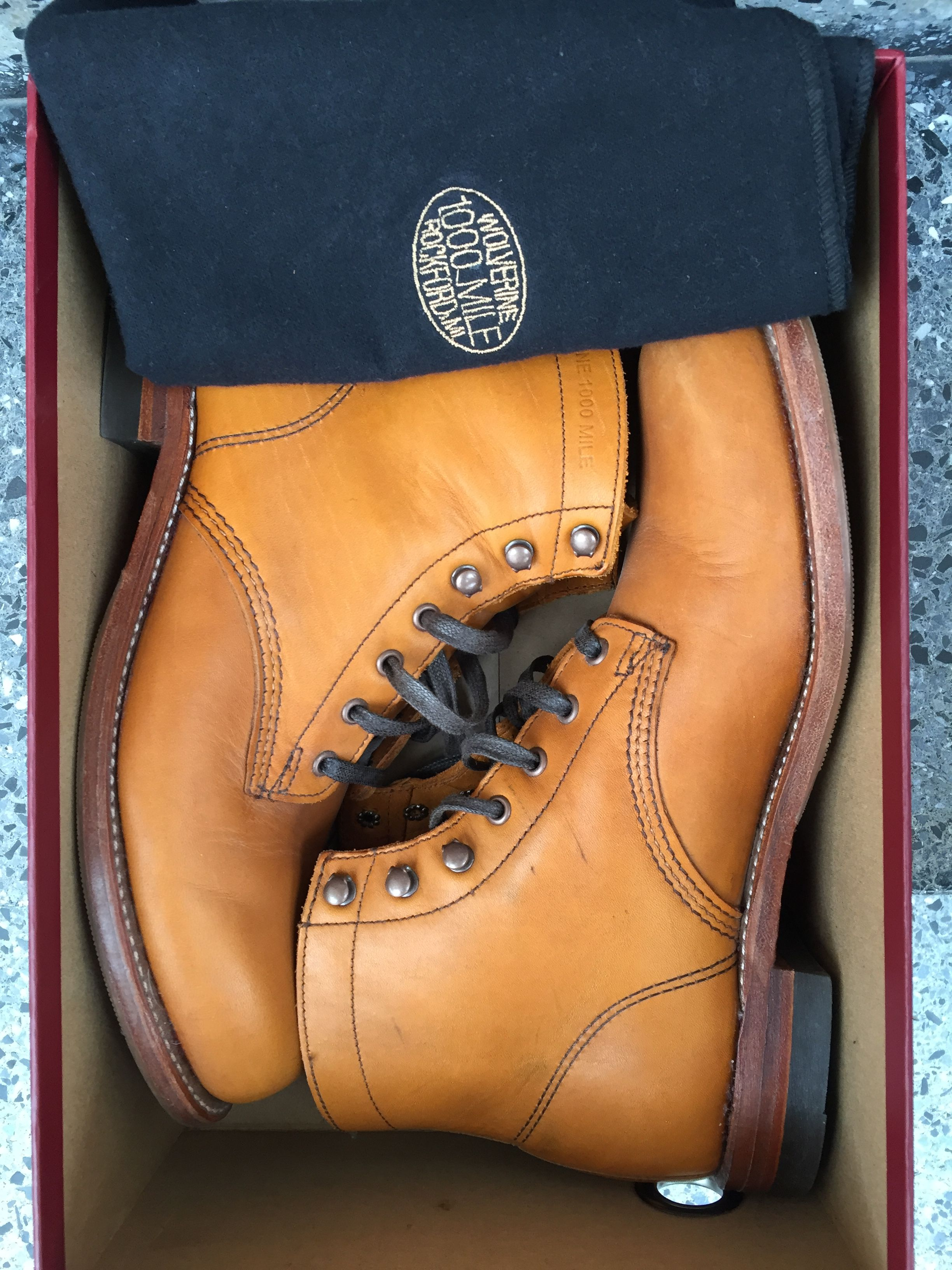 Wolverine 1000 Mile boots  be24c18fe1b