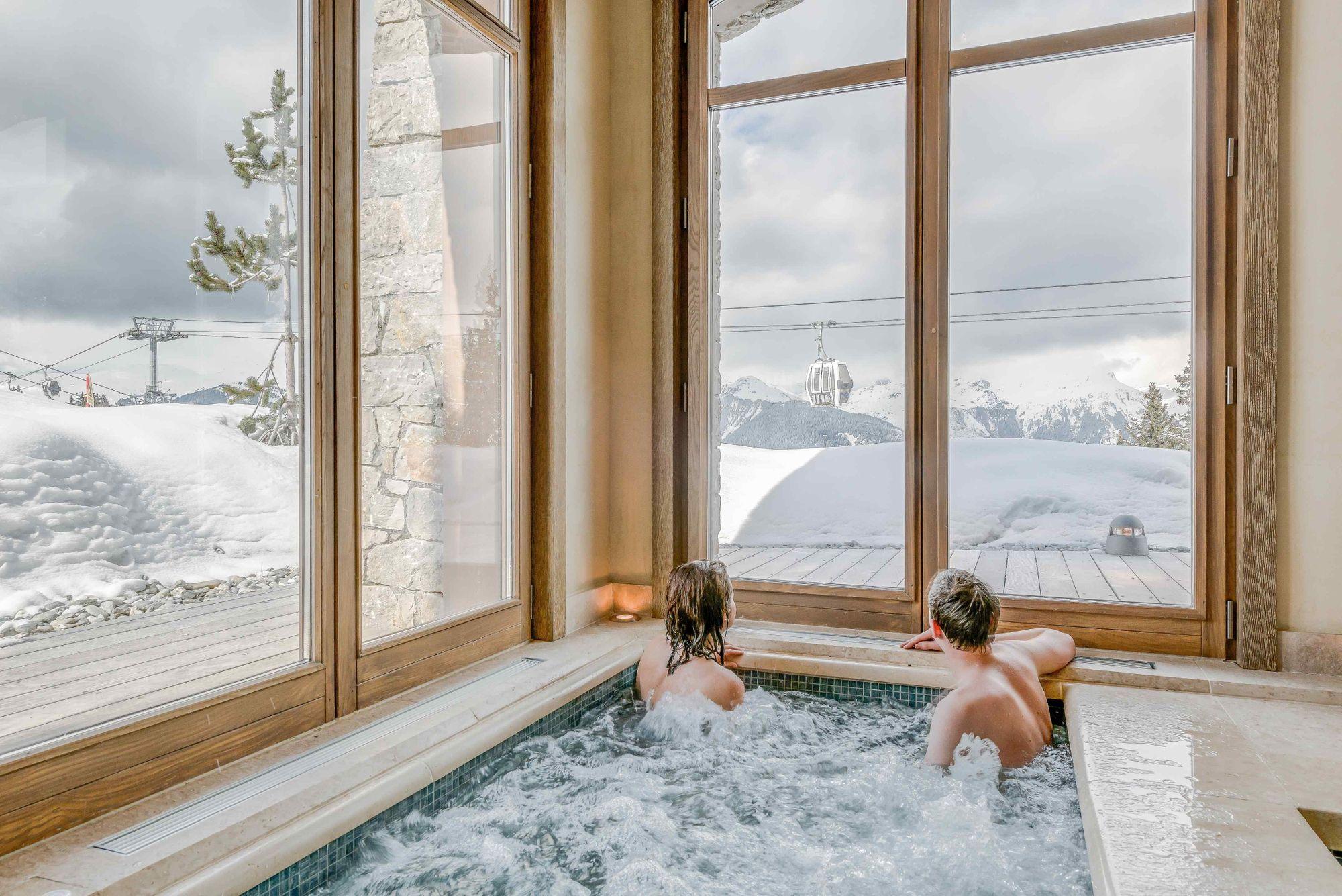 Indoor Jacuzzi Chalet Shemshak Lodge Colorado Resorts Indoor Jacuzzi Luxury Ski Chalet