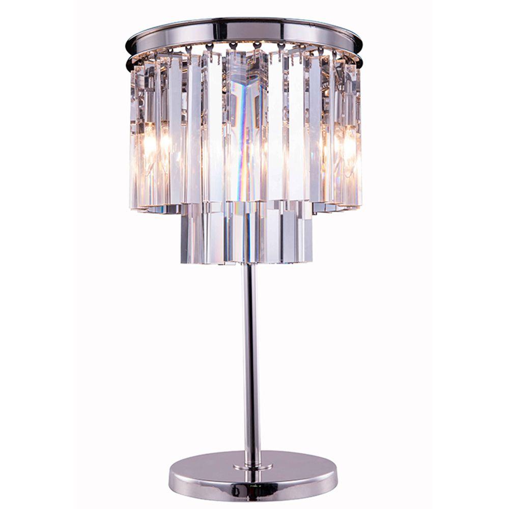 Sydney Polished Nickel Table Lamp